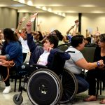 Plenária da CNDCA vota propostas. Foto: Paula Fróes