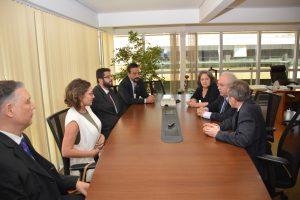 Cerimônia de assinatura do acordo de cooperação técnica. Foto: Robson Carvalho / Enap